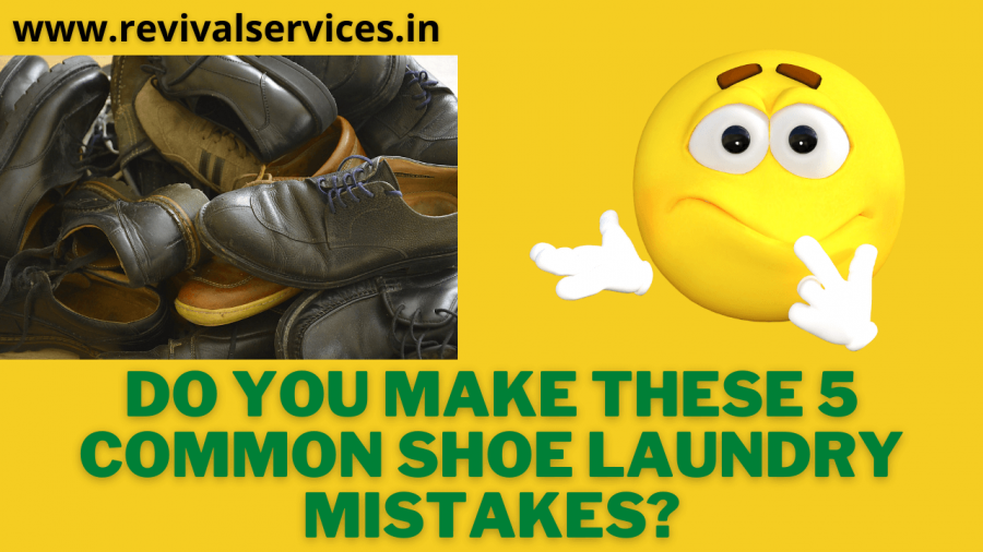 Do You Make These 5 Common Shoe Laundry Mistakes