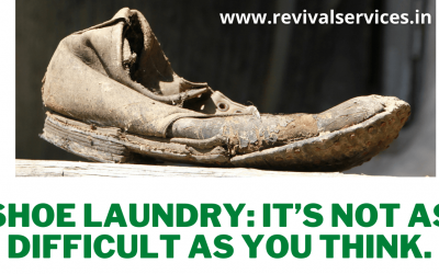 Shoe Laundry (It's not as difficult as you think)